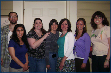 The DOC crew at TCOYD in Albany, NY.  Phew, that's a very technical alt text for ya.