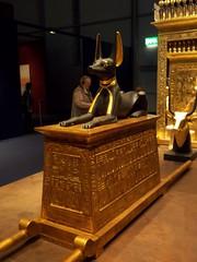 Anubis (mindmouthsoul) Tags: gold tomb egypt egyptian anubis tutankhamun egyptiangod