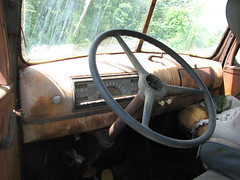 OLD CHEVY TRUCK DASH (richie 59) Tags: old usa chevrolet abandoned america truck outside us spring automobile gm rusty faded chevy rusted guages trucks newyorkstate dashboard oldtruck speedometer automobiles obsolete chevys wornout nystate chevrolettrucks rustytruck generalmotors hudsonvalley chevytruck 2door motorvehicles junktr