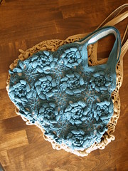 Blue Rose bag