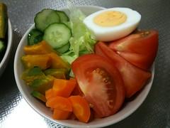 朝食サラダ(2011/6/23)