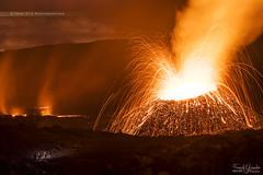 - Une belle éruption - (Frog 974) Tags: îledelaréunion ngc pitondelafournaise éruption volcan volcanique volcanisme lave projections
