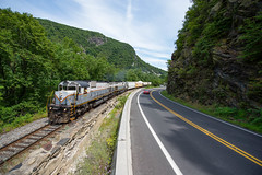 Filling the Gap (ajketh) Tags: dl delaware lackawanna alco american locomotive works montreal mlw c636 m630 3643 pt98 water gap fill freight train railroad setoff portland corporate gvt genesee valley transportation