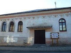 Synagoga Kaukaska (1850,  Piłsudskiego 5) w Krynkach od strony Górnej (Polek) Tags: polska europe synagoga building sokólski budynek poland podlaskie architecture europa krynki architektura świątynia synagogue temple