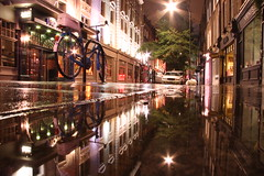 rinsing away (maybemaq) Tags: street uk light england reflection london wet water rain night umbrella gold hotel rainyday britain path clarity midnight transparency udo coventgarden sas reflexions breathtaking waterreflection sevendials mercerstreet the4elements abigfave colorphotoaward theunforgettablepictures rinsingaway
