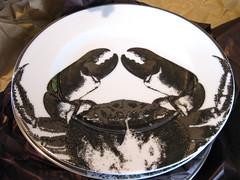 Crab plate (by Anitza V)