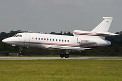OY-OKK - 128 - Private - Dassault Falcon 900EX - Luton - 090429 - Steven Gray - IMG_7763