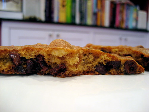 hazelnut chocolate cherry cookie