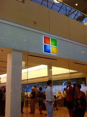 Microsoft Store Entrance