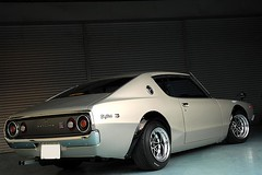 Skyline GC110 (dez&john3313) Tags: road new up car japan shop skyline vintage star 1974 cool mod nissan retro awsome clean 70s  modified restoration tune tuner build 74 rare resto jdm datsun specialty gtr r32 2000gt r30    hako r35 c110    gc10 kpgc10   kenmeri gc110 hakosuka   kenmary retored    sukairain