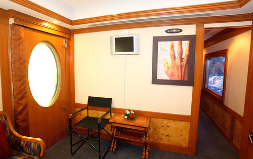 The Indian Maharaja, Deccan Odyssey - A private lounge for 4 cabins