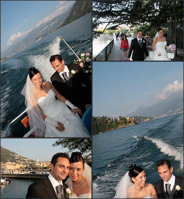 Wedding Cruise on Lake Como
