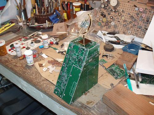 Circuit Board Pedestal