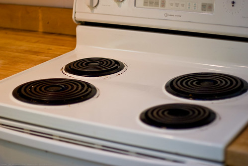 Samsung review: old stove