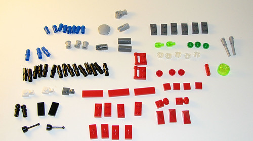LEGO 8060 Atlantis - Typhoon Turbo Sub - Parts 2