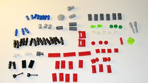 LEGO 8060 Atlantis - Typhoon Turbo Sub - Parts 2
