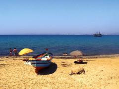 Colourful Hammamet (mgrabski) Tags: africa trip beach boat fishing colorful northafrica tunisia abroad colourful hammamet tunezja zagranic