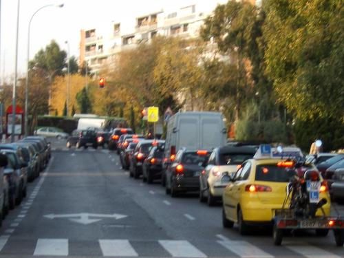 salida por calle Amapolas