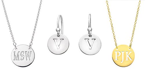 4134246866 38d9e04050 Real Jewels: Recycled jewelry personalized with your initials