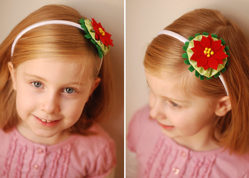 super easy holiday headband by you.