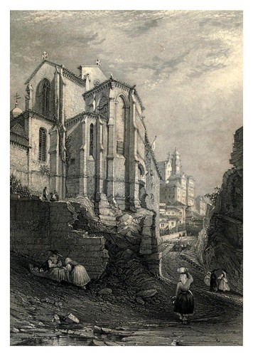 035-Iglesia de San Francisco en Oporto-The tourist in Portugal 1839- James Holland