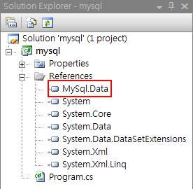 Add Reference MySQL Connector Step 4