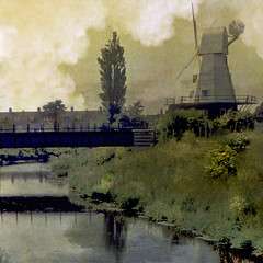 Kinderdijk, Netherlands (h_roach) Tags: holland netherlands windmill worldheritagesite soe kinderdijk relections shieldofexcellence textureart theunforgettablepictures