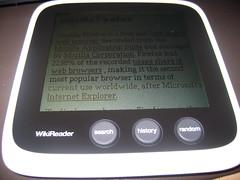 WikiReader : Mozilla Firefox