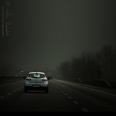 over the hills and far away () Tags: auto street andy car fog clouds landscape highway strada nuvole driving zoom andrea andrew nebbia macchina paesaggio lanes guida autostrada benedetti corsie nikond90  updatecollection