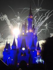 PC080104 (lilclerk) Tags: hotel orlando nightshot florida fireworks disney resort disneyworld wishes fl wdw waltdisneyworld themepark magickingdom cinderellacastle