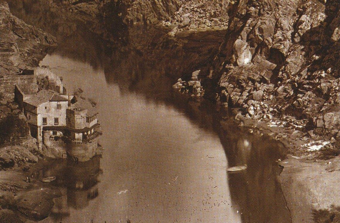 Casa del Diamantista en 1872. Fotografía de Jean Laurent