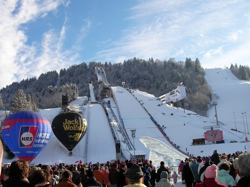 New Year Ski Jump in Garmisch-Partenkirchen