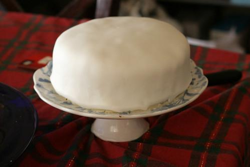 Fruitcake Icing 2