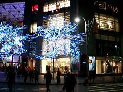 Time-Warner Center during Christmas season (Jim Lambert) Tags: nyc newyorkcity usa ny newyork architecture buildings us video unitedstates manhattan broadway christmaslights midtown nighttime christmasdecorations columbuscircle 2009 sidewalks videos timewarnercenter sidewalksofnewyork midtownmanhattan nighttimephotography w59thst west50s afterdarkphotography west59thstreet fall2009 december2009 w59thstreet autumn2009 17december2009 12172009 december172009