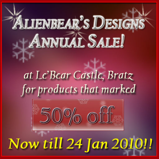 Xmas09 annual sale ads