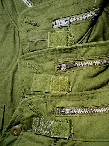 Vintage M-65 Collar Tab
