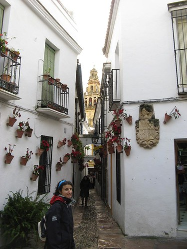 Rua das Flores, Córdoba, Andaluzia, Espanha; Dezembro 2009