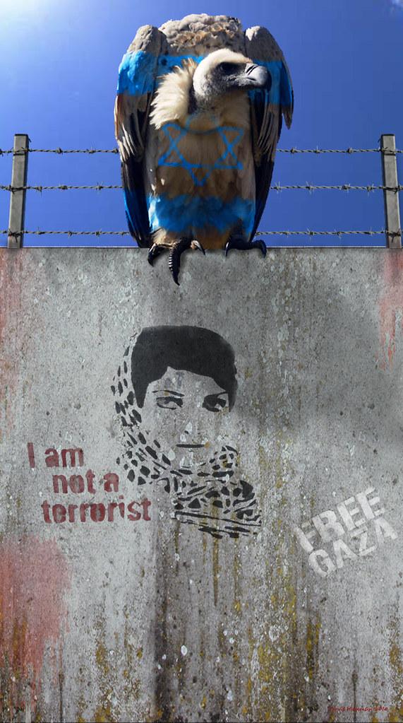 Free Palestine - Stop The Wall - End The Israeli Apartheid