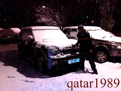 ...  (qatar1989) Tags: snow london rover 1989 range qatar    qatar1989 1989