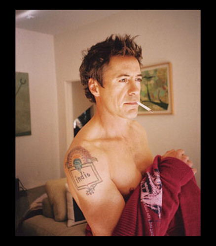 Robert Downey Jr Tattoos