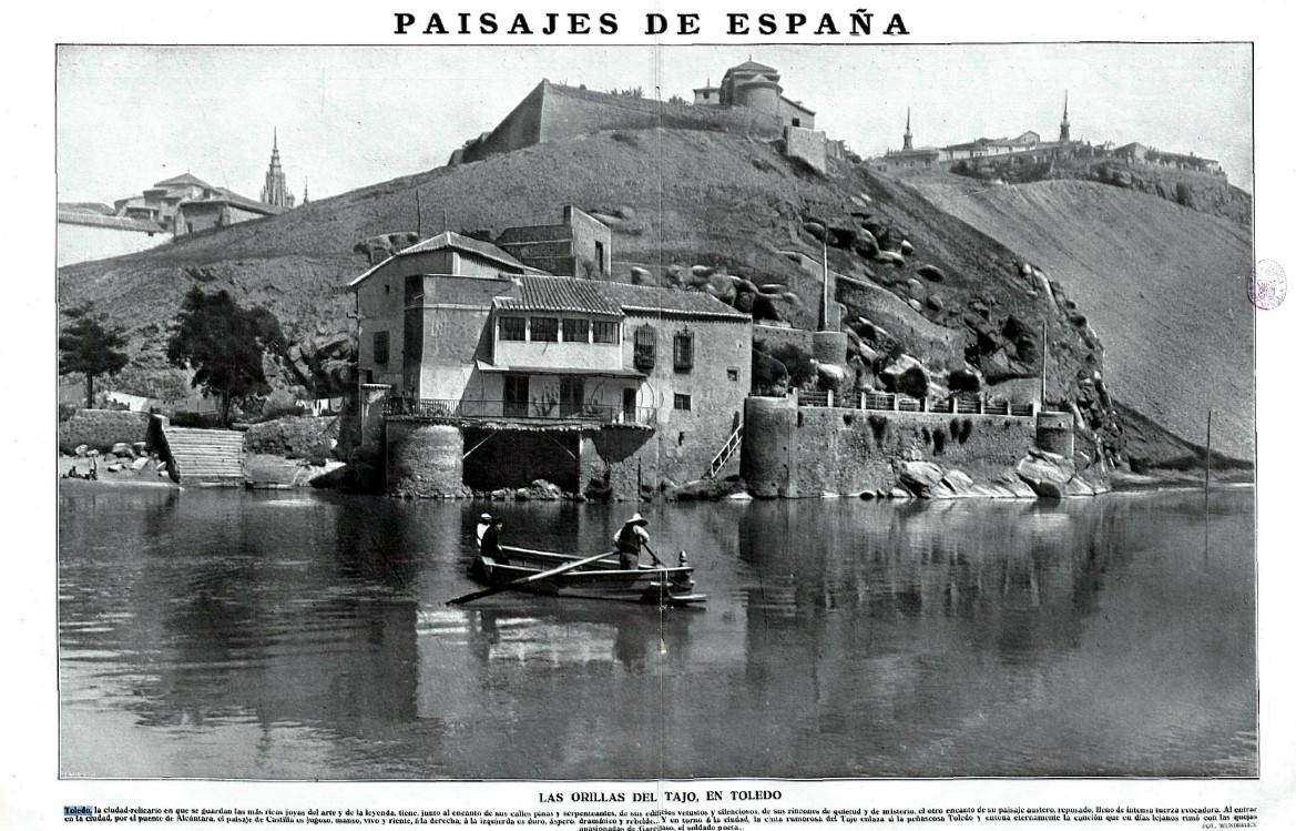 Casa del Diamantista a comienzos del siglo XX. Revista La Esfera