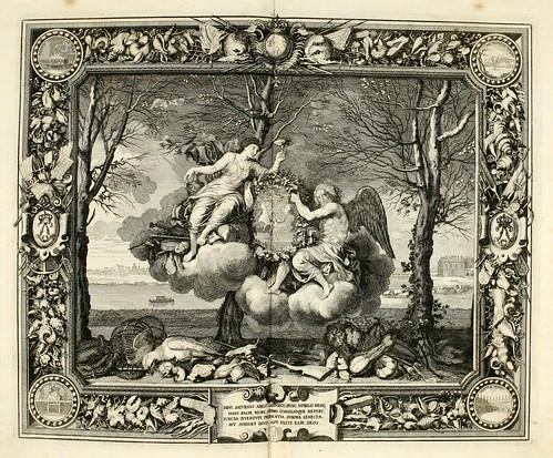 030- Las estaciones- El invierno-Tapisseries du roy, ou sont representez les quatre elemens 1690- Sebastien Le Clerc