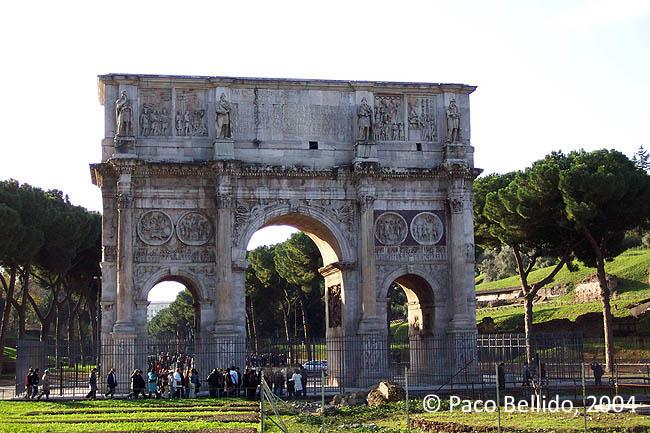 Arco de Constantino. © Paco Bellido, 2004