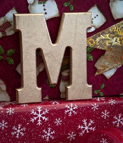 M is for Merry Christmas Michael!