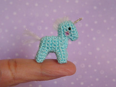 Unicorn (MUFFA Miniatures) Tags: cute miniatures miniature funny crochet bjd amigurumi unicorn dollhouse muffa cdhm bdjpet
