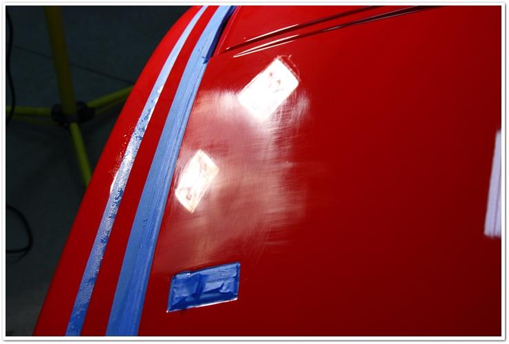 Ferrari 355 GTS sanding