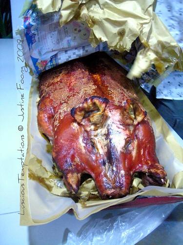 Roasted Piggy - New Year's Eve, Kuala Lumpur