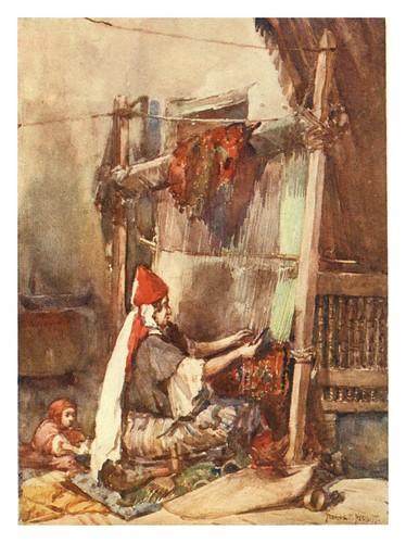 017- Frabricacion de alfombras-Algeria and Tunis (1906)-Frances E. Nesbitt