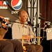 Christian McBride, Jimmy Heath, and Louis Hays, Jazz Talk Tent, 2009 Detroit International Jazz Festival