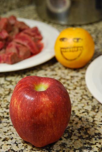咖哩加個蘋果會很好吃